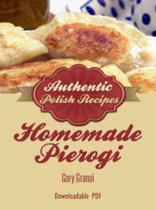 Homemade Pierogi cookbook